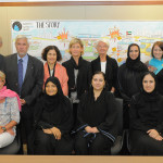 The first Board Meeting in the UAE in October 2011 hosted by Zayed University.