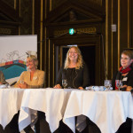 Our panelists, hosted by our Co-Chair Mette Laursen, speaking about global talent.