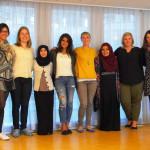 Alumni from the 2014 YLBC program meet in Gothenburg.
